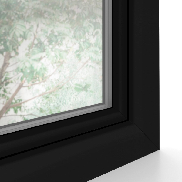 Copy of jet black matt  window